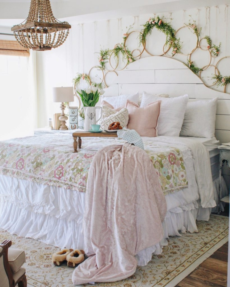 DIY Floral Wall by Cottonstem