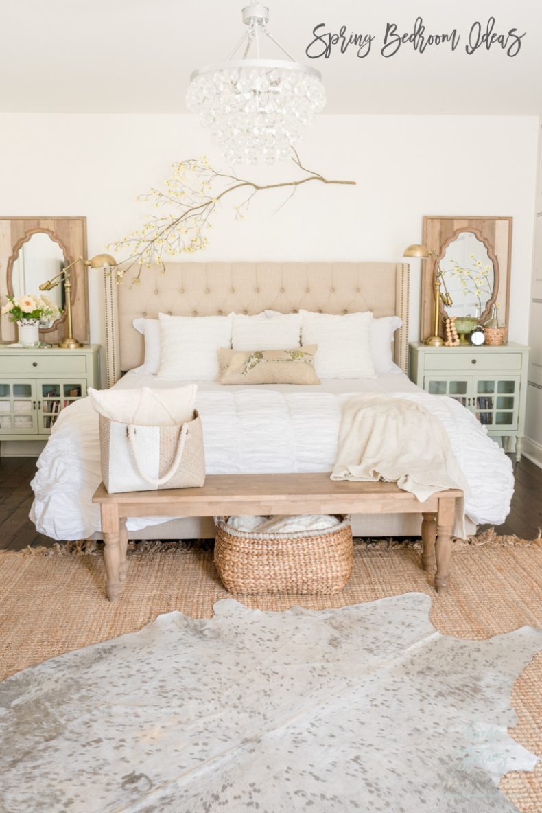 Spring Bedroom Ideas - French Country Cottage Spring Bedroom by Home Stories A to Z
