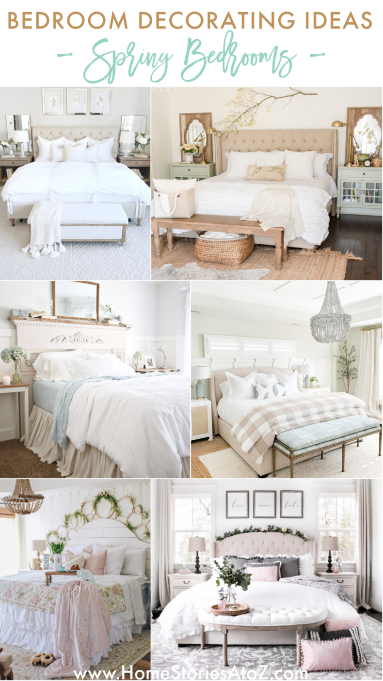 Spring Bedroom Ideas - Tips and Ideas for Your Spring Bedroom