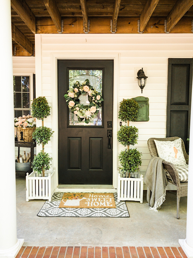 Spring Wreath Ideas - Spring Wreath by Home Stories A to Z