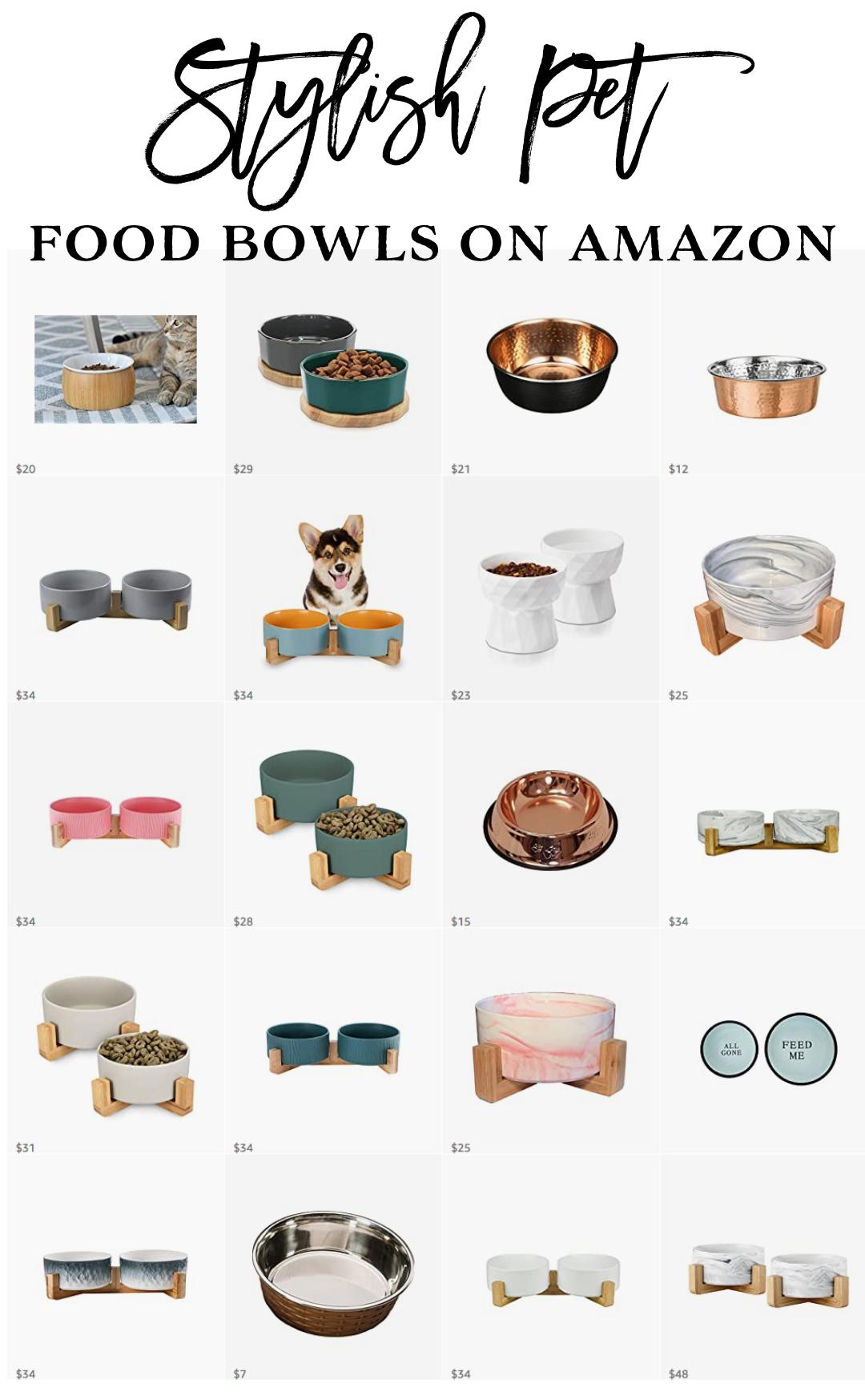 Stylish-Dog-Accessories-Food-Bowls