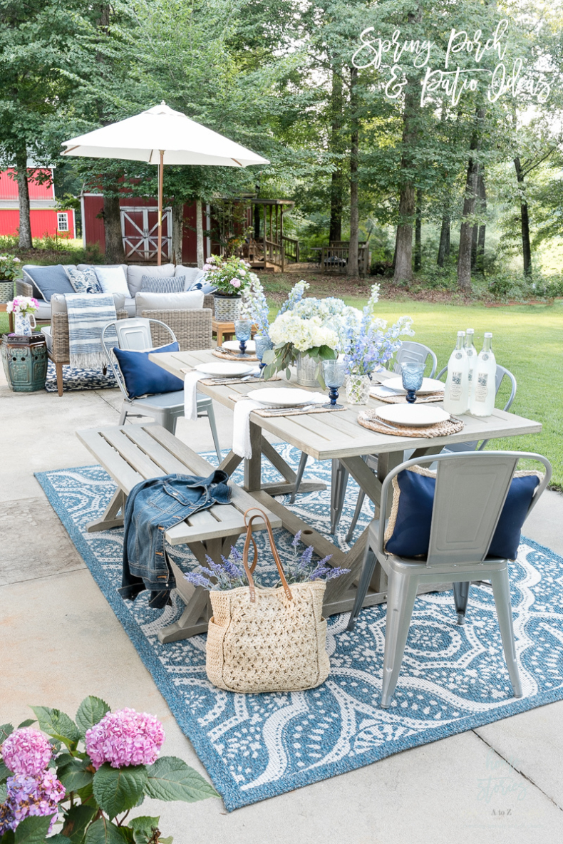 Spring Porch and Patio Ideas - Home Stories A to Z