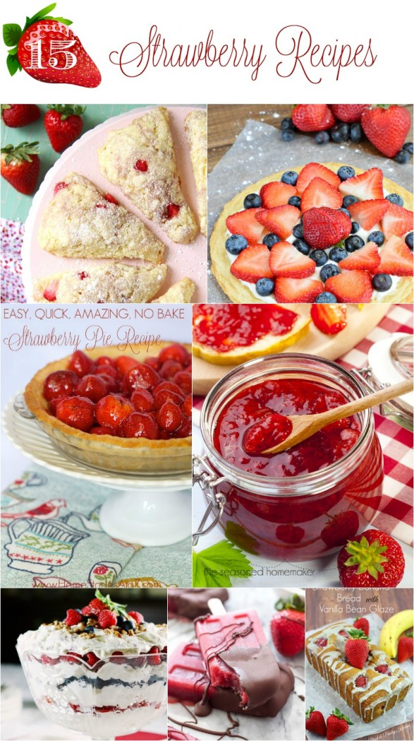 15 Easy Strawberry Recipes
