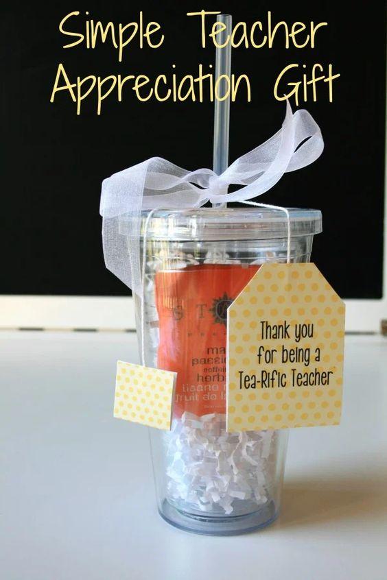 Teacher Gift Ideas - Tea-rific Teacher by Everyday Savvy
