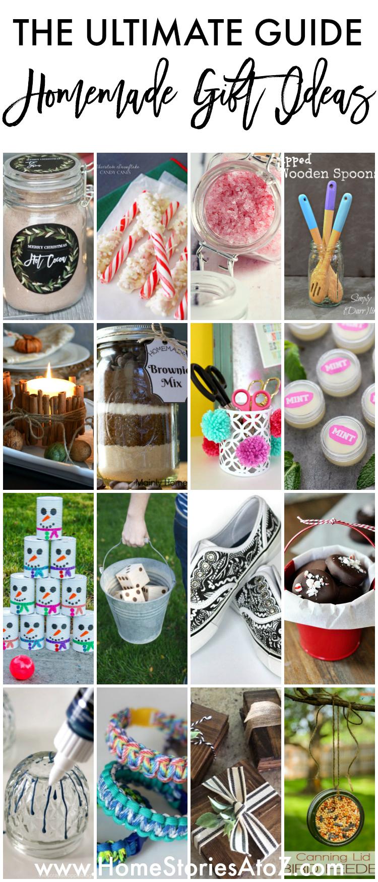90+ Homemade Gift Ideas