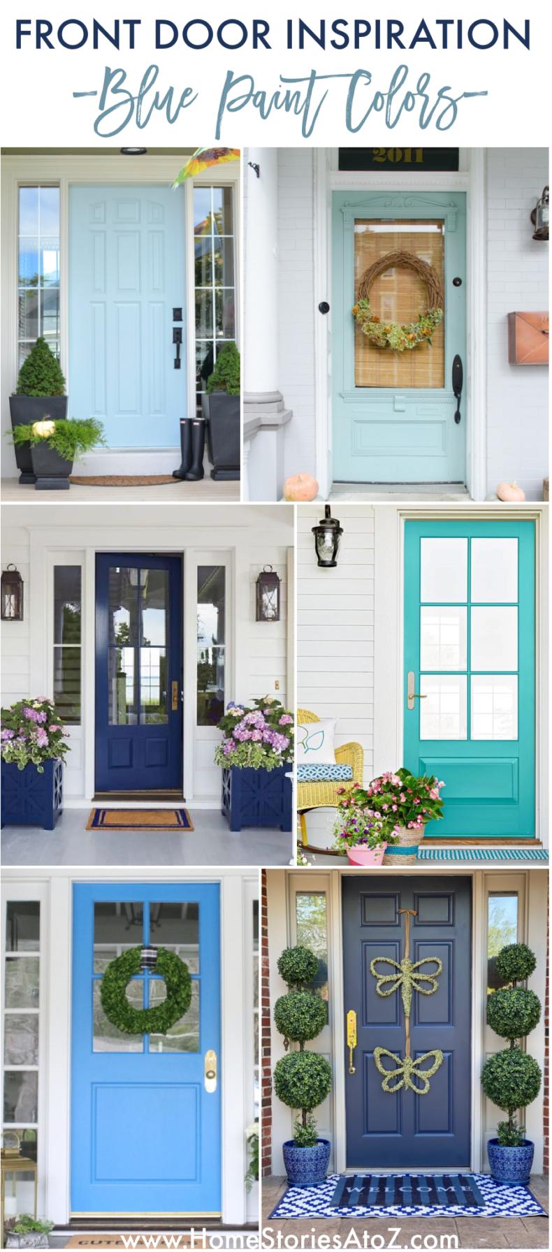 Blue Door Colors - Blue Paint Ideas
