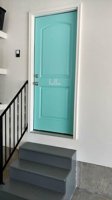Blue Door Colors - Glidden Echo Lake Aqua by Sunshine and Munchkins