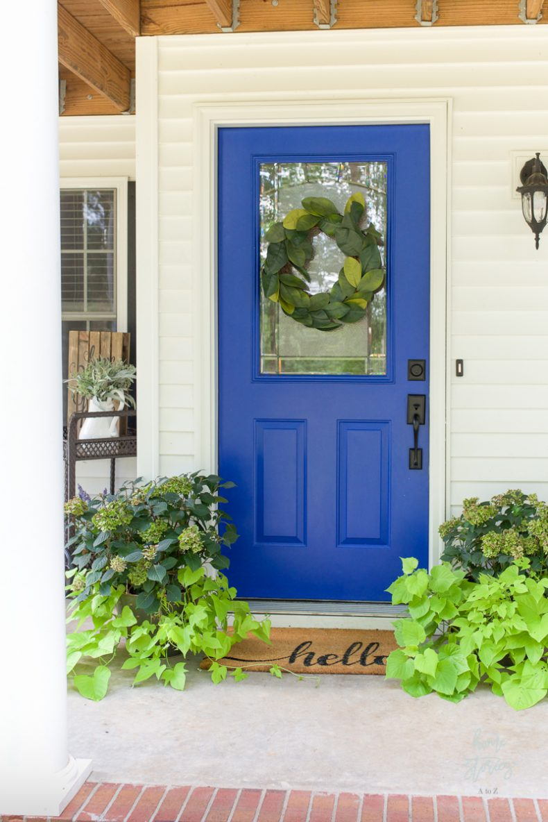 Blue Door Colors - Home Stories A to Z