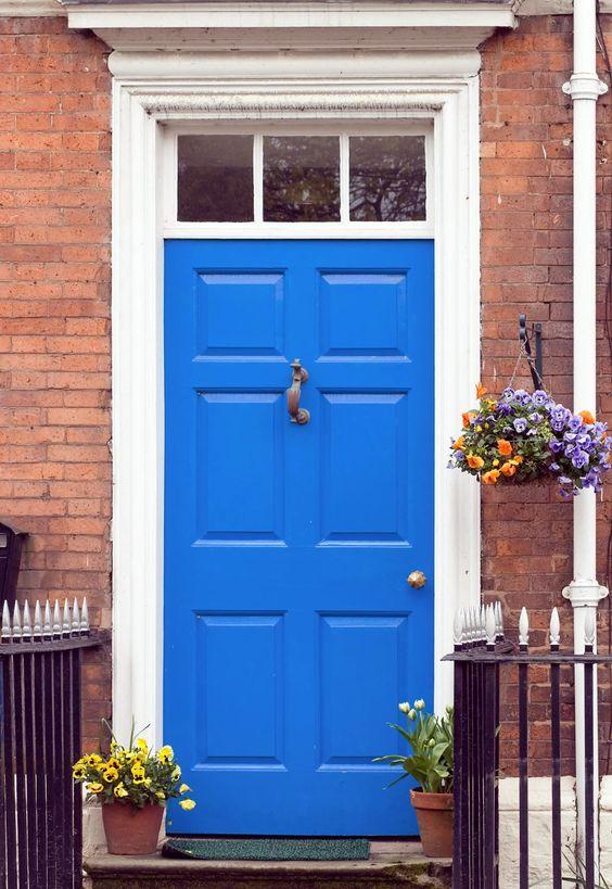 Blue Door Colors - Valspar Cosmic Blue by BHG