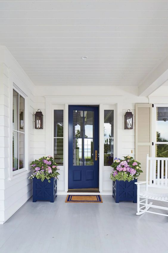 Blue Door Ideas - Southern Living