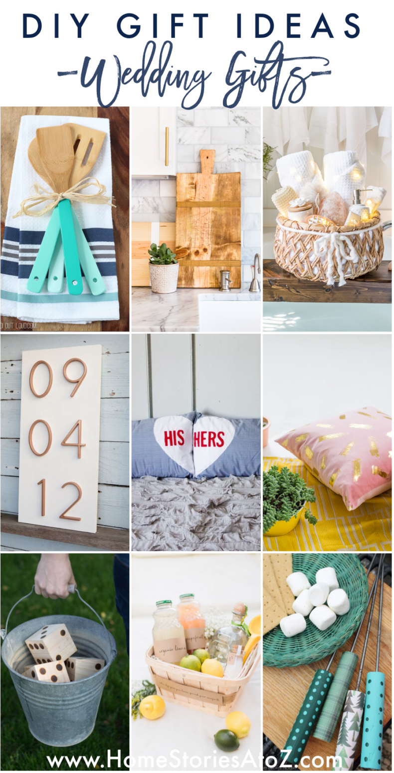 DIY Homemade Wedding Gift Ideas