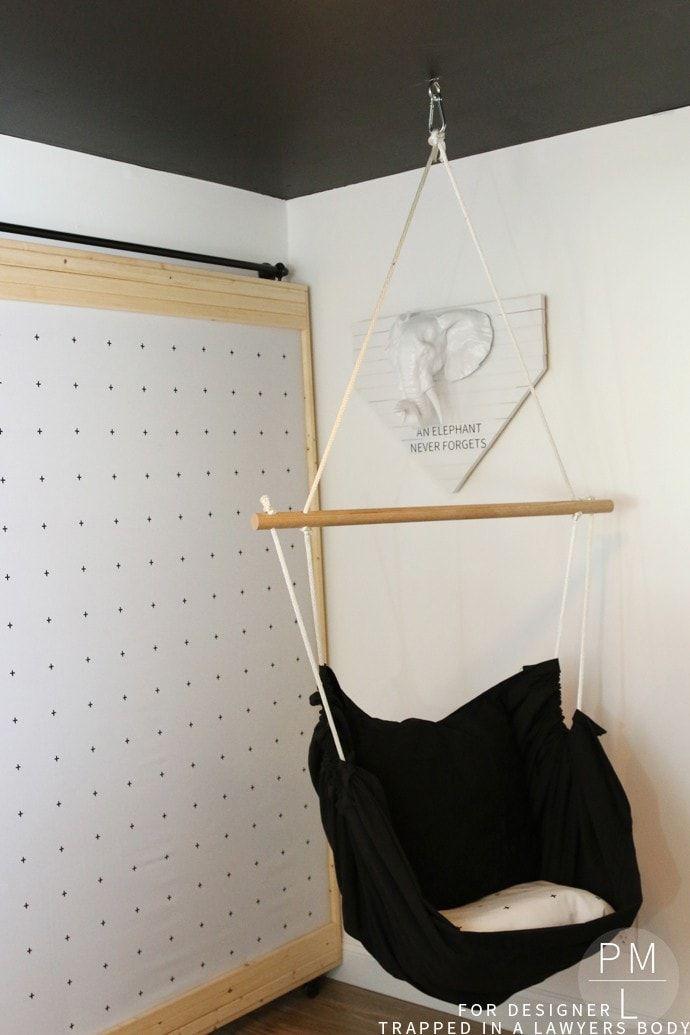 DIY Wedding Gifts - DIY Hammock Chair by Kalediscope Living