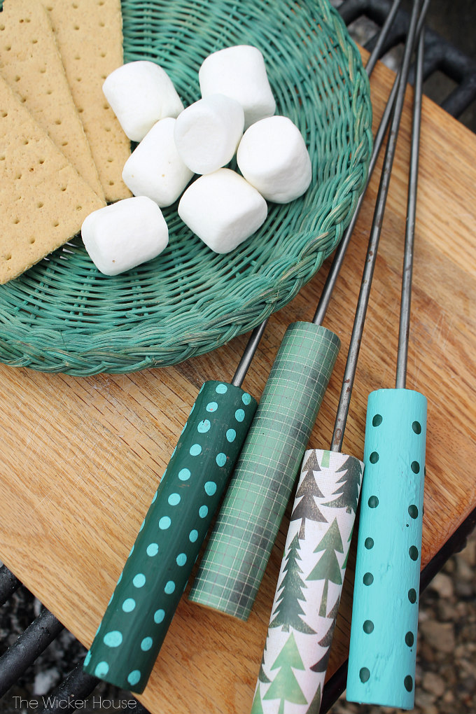 DIY Wedding Gifts - Roasting Sticks by The Wicker House