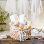 DIY Wedding Gifts - Spa Gift Basket by Home Stories A to Z