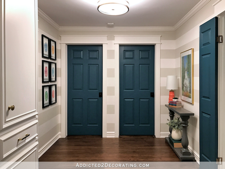 Neutral Interior Door Paint Colors - Addicted 2 Decorating