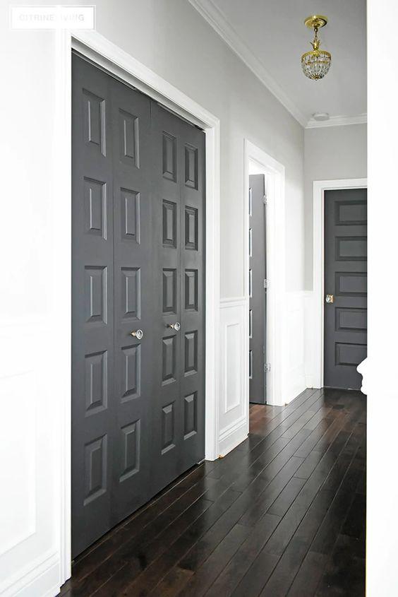 Neutral Interior Door Paint Colors - Citrine Living