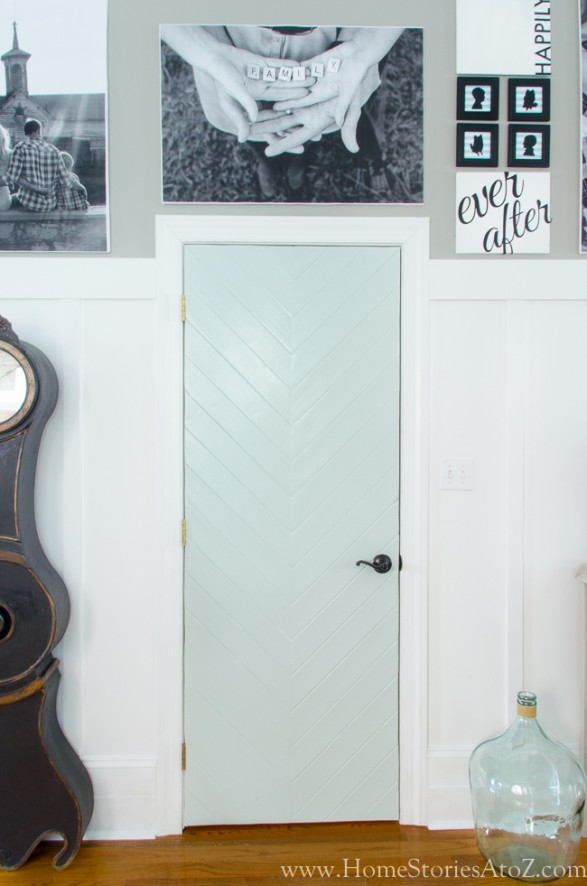 Neutral Interior Door Paint Colors - SW Sea Salt by Home Stories A to Z