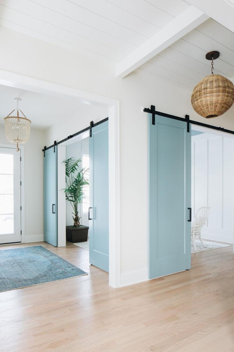 Neutral Interior Door Paint Colors - Sand & Sisal