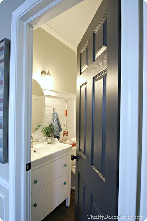 Neutral Interior Door Paint Colors - Thrifty Decor Chick