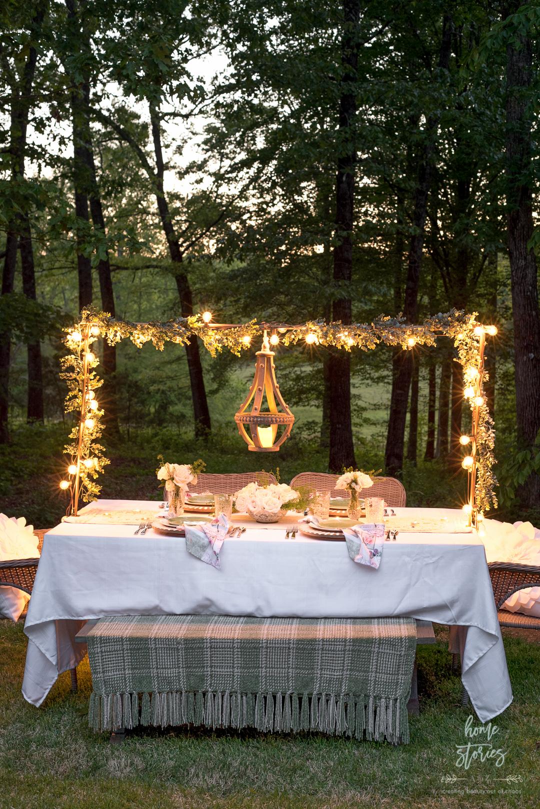 gorgeous outdoor table ideas