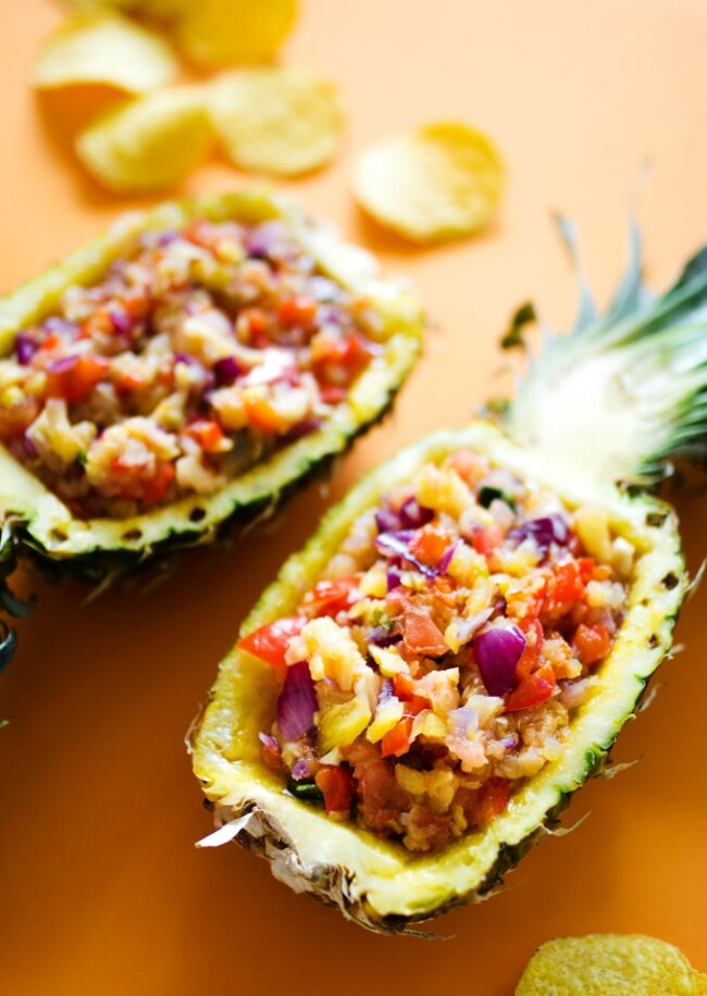 Grilled Pineapple Salsa by Live Eat Learn