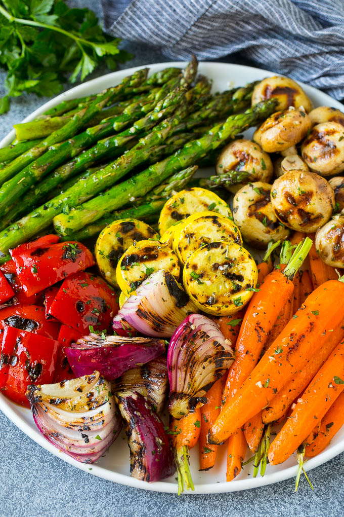 Grilled Vegetable Recipes - Grilled Vegetables by Dinner at the Zoo