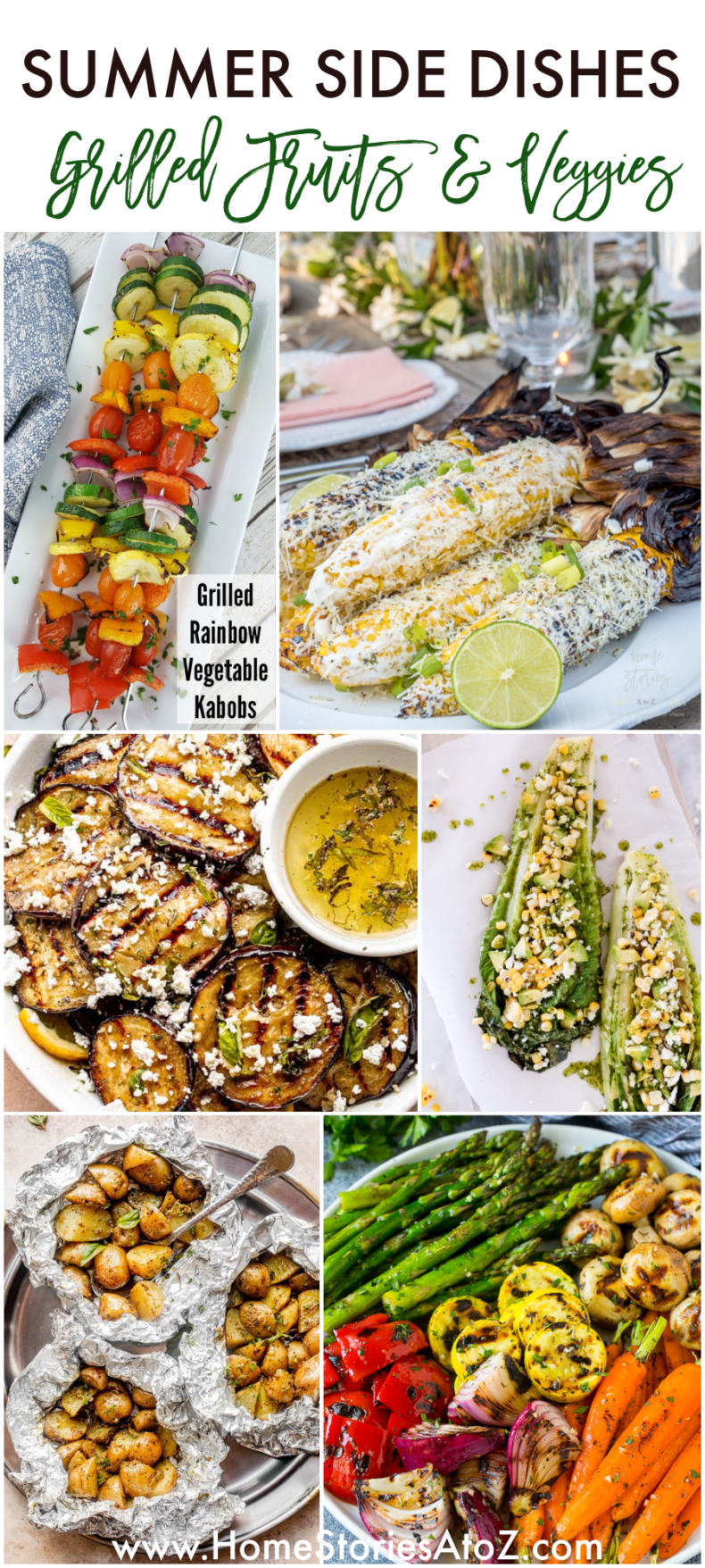 Grilled Vegetable and Fruit Recipes