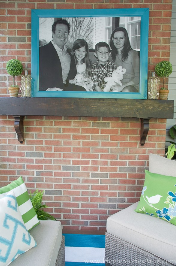 DIY Small Building Projects - How to Build a Box Beam Mantel by Home Stories A to Z