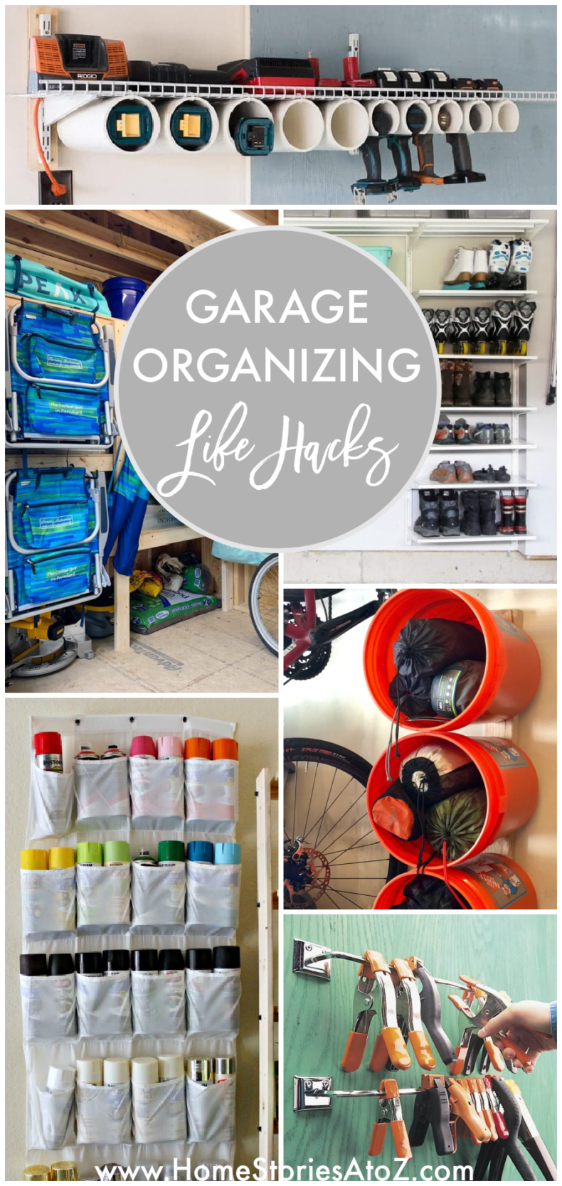 Garage Organizing Life Hacks - Home Stories A to Z