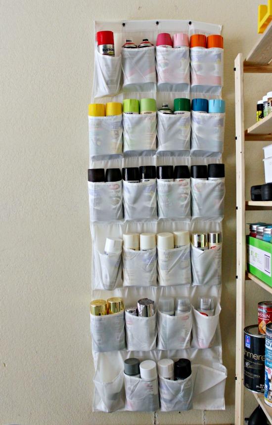 How to Organize Spraypaint by Hi Sugarplum