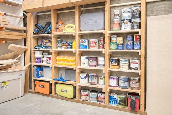 Narrow Storage Idea by The Handyman's Daughter