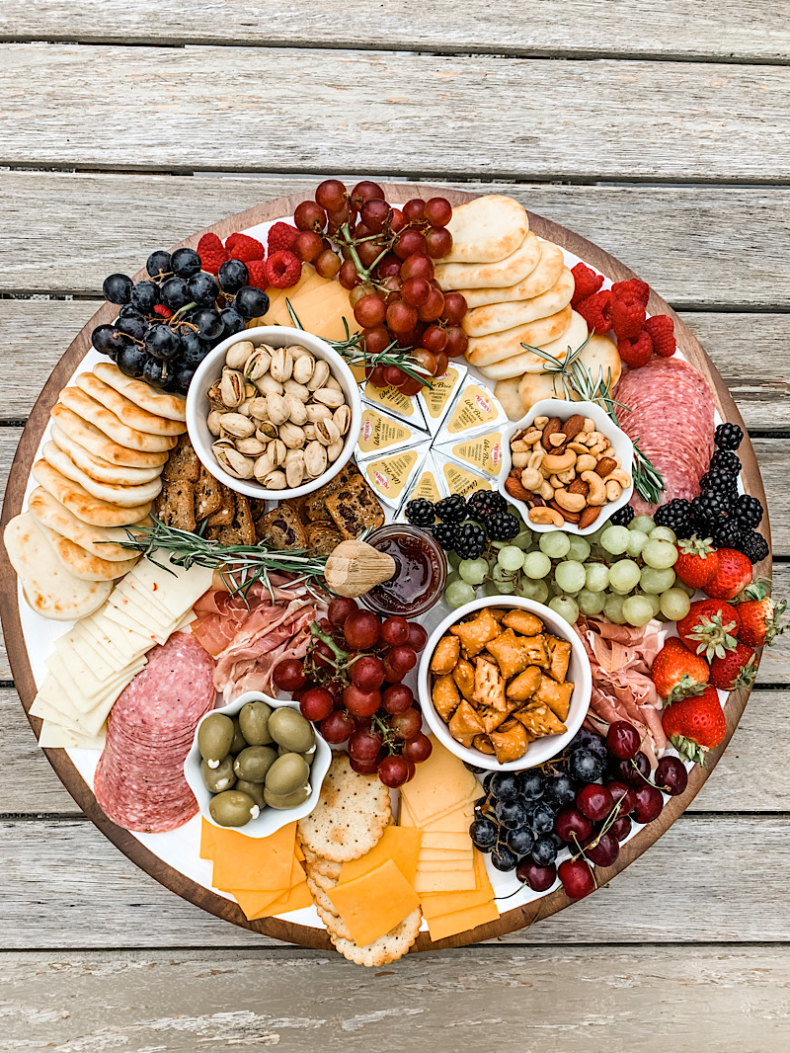 Summer Entertaining Tips - Charcuterie Board by Home Stories A to Z