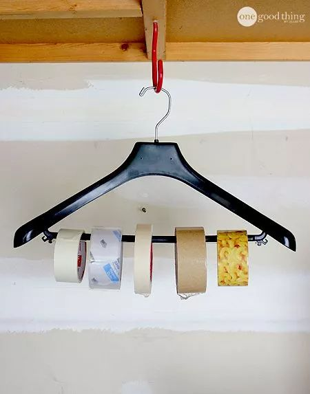 Tape Storage Idea by One Good Thing