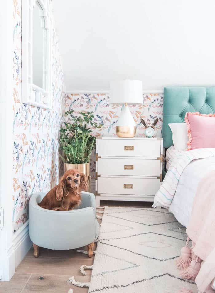 Wallpaper Inspiration by At Home With Ashley
