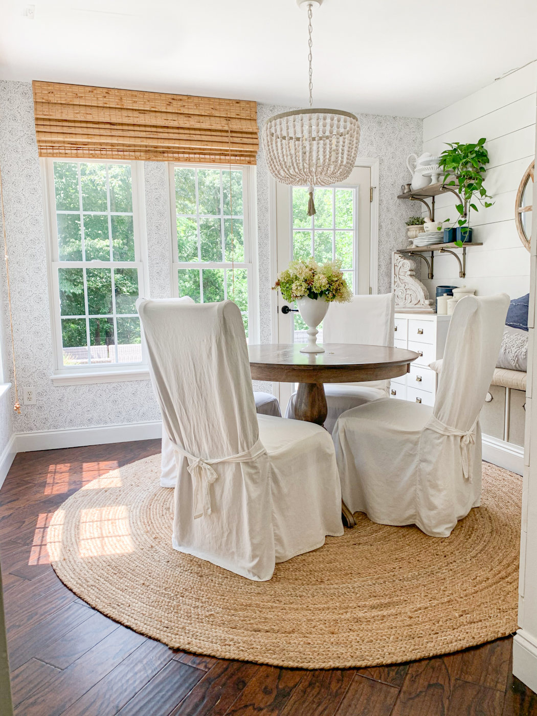 Wallpaper Inspiration - Breakfast Room by Home Stories A to Z