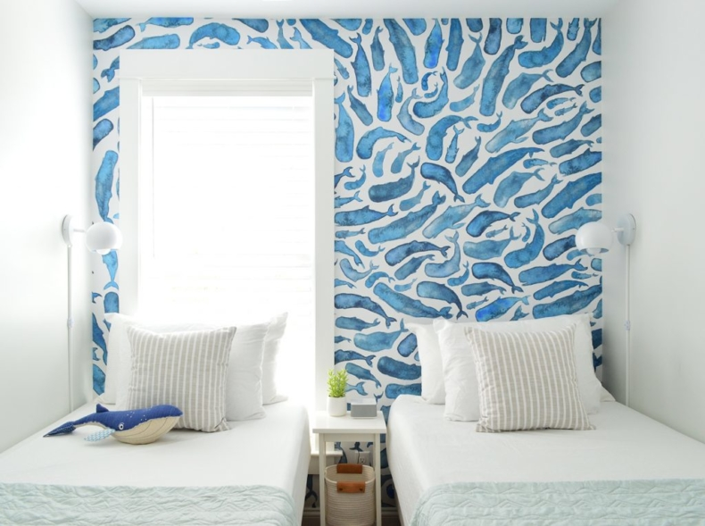 Wallpaper Inspiration - Kids Bedroom by Young House Love