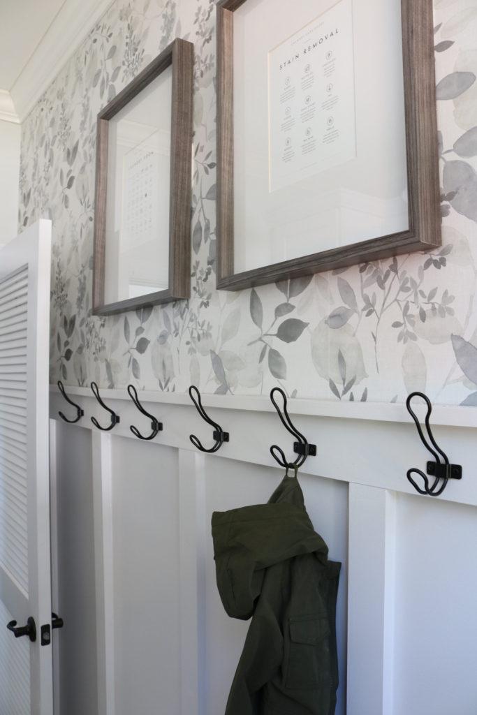 Wallpaper Inspiration - Laundry Room Wallpaper by Home on Poplar Creek
