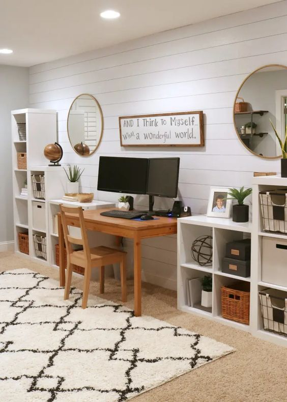 Wallpaper Inspiration - Office Space by The Design Twins
