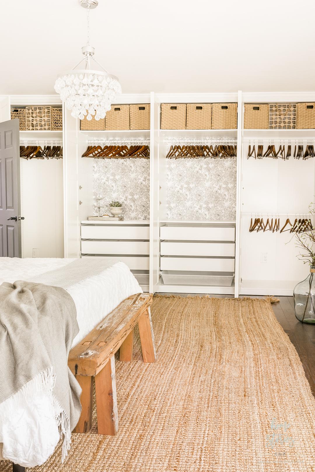 ikea pax closet organization
