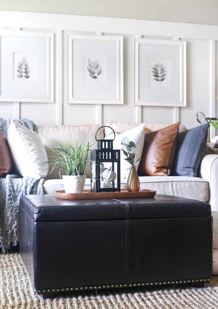 Fall Decor Ideas Boho Inspired Living Room by It All Started With Paint