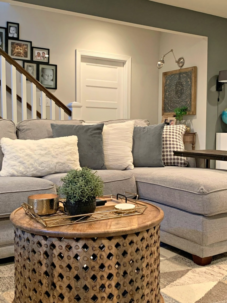 Fall Decor Ideas - Cozy Living Room by Thrifty Decor Chicl