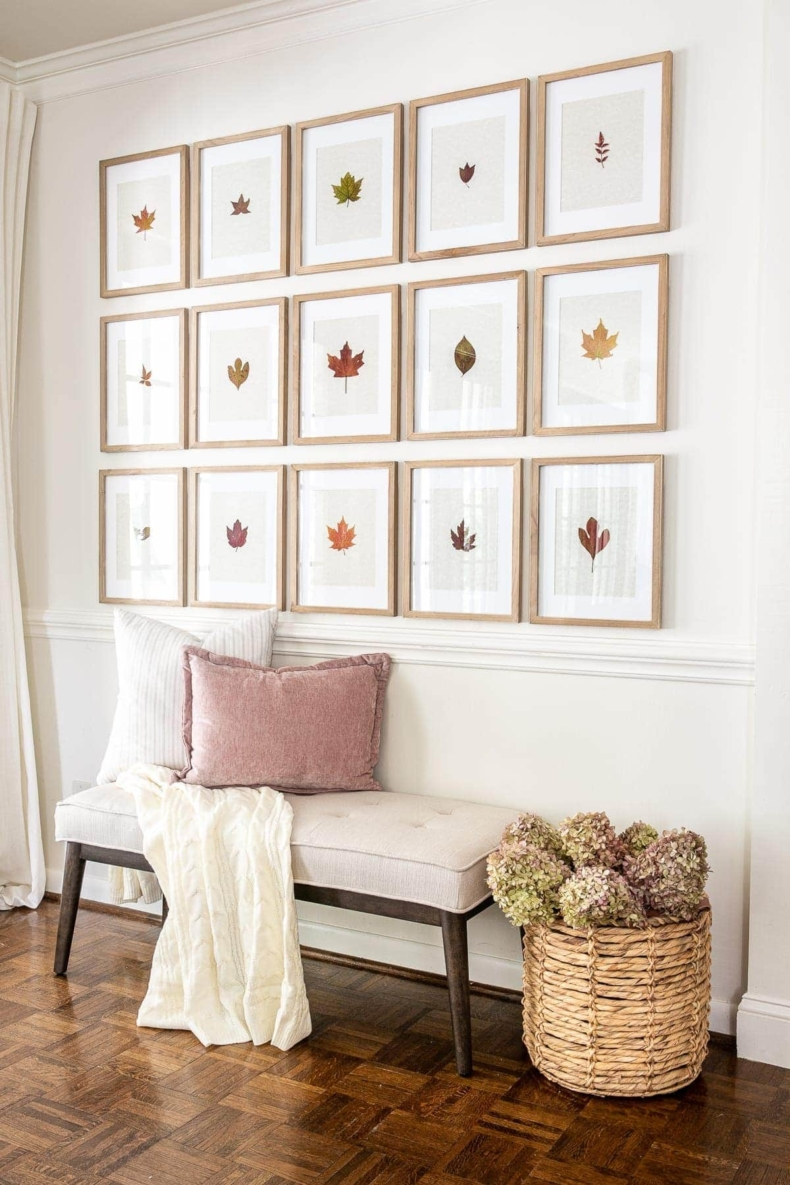 Fall Decor Ideas - Fall Leaves by Bless'er House