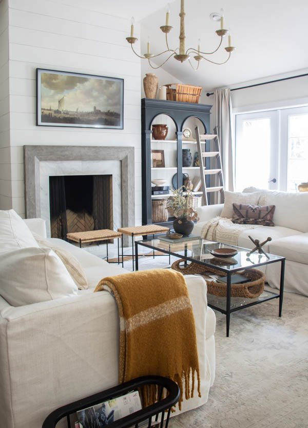 Fall Decor Ideas - Fall Living Room by Seeking Lavender Lane