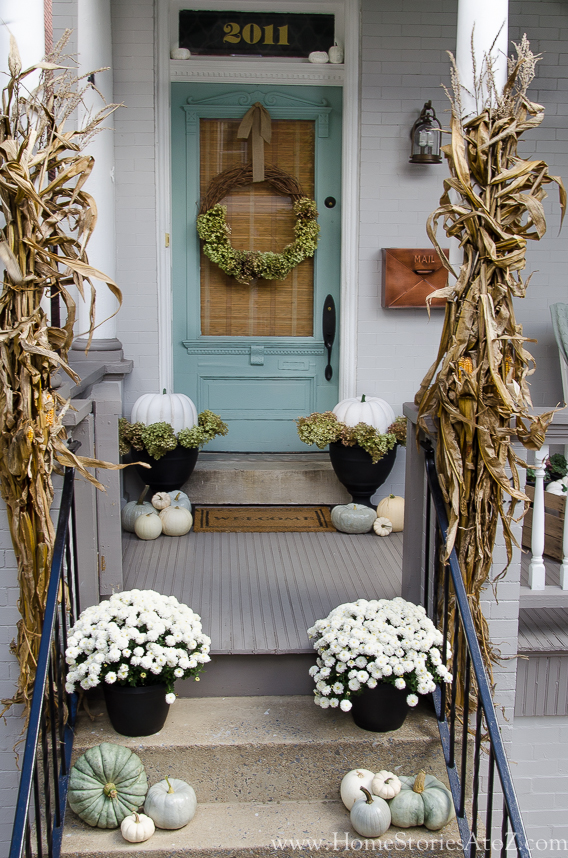 Fall Porch Ideas - Home Stories A to Z