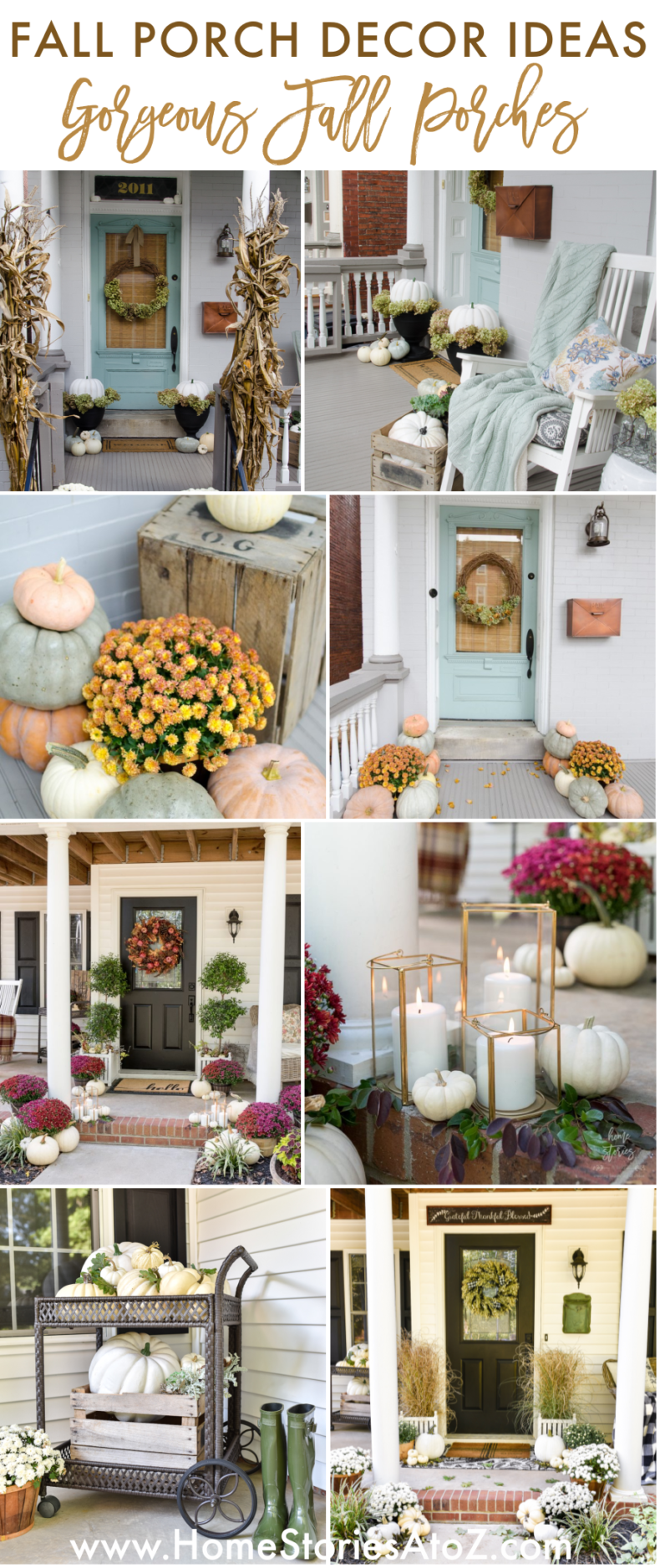 Fall Porch Ideas by Home Stories A to Z